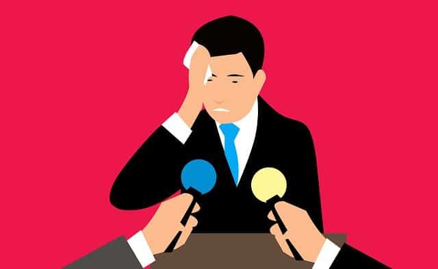 התמודדות עם פחד קהל אילוסטרציה